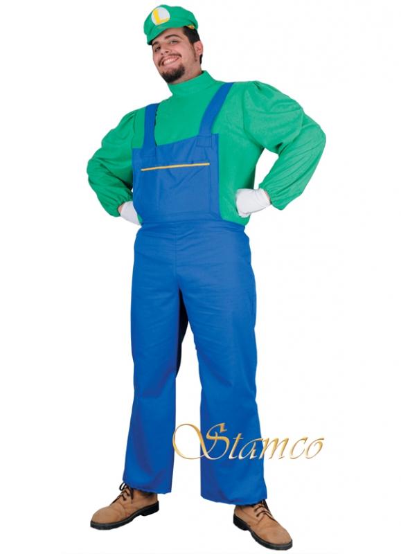 Pánské kostýmy - Kostým Luigi