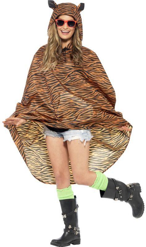 Zvířecí kostýmy - Pláštěnka Tygr