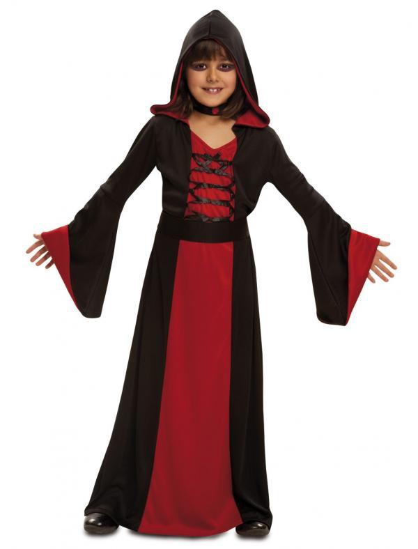 Dětské karnevalové kostýmy - Dětský kostým Červená kouzelnice