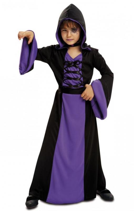 Dětské karnevalové kostýmy - Dětský kostým Fialová kouzelnice