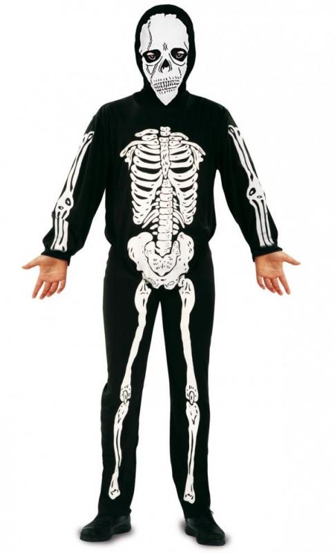 Halloween - Dětský kostým Kostlivec 3