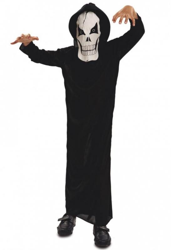 Halloween - Dětský kostým Duch smrti