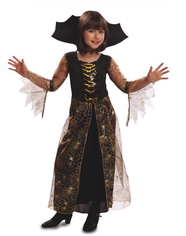 Halloween - Dětský kostým Arachnid lady
