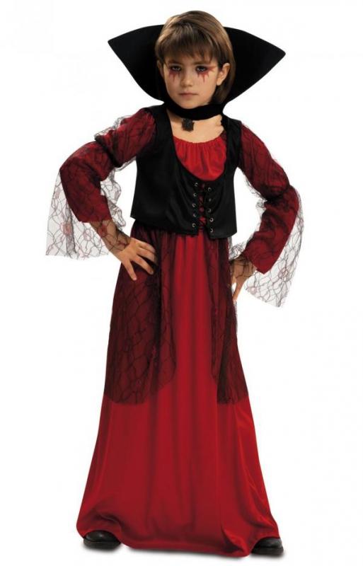 Halloween - Dětský kostým Lady Vamp