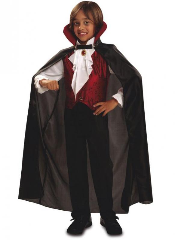 Halloween - Dětský kostým Gótský vampír