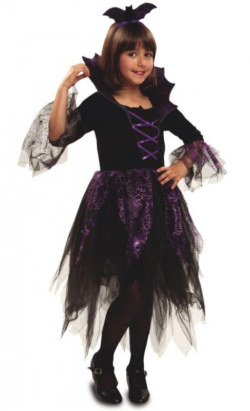 Čarodějnice - Dětský kostým Netopýří víla