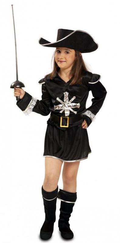 Dětské karnevalové kostýmy - kostým Mušketýrka