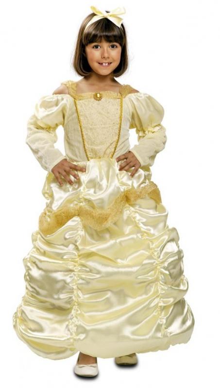 Princezny-Víly - Dětský kostým Princezna žlutá
