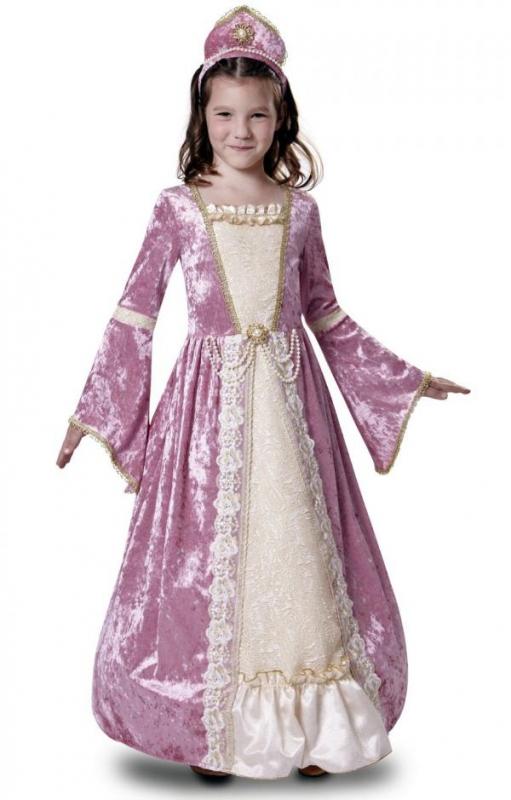 Dětské karnevalové kostýmy - Dětský kostým Princezna růžová