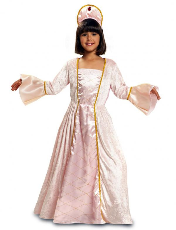 Princezny-Víly - Dětský kostým Princezna
