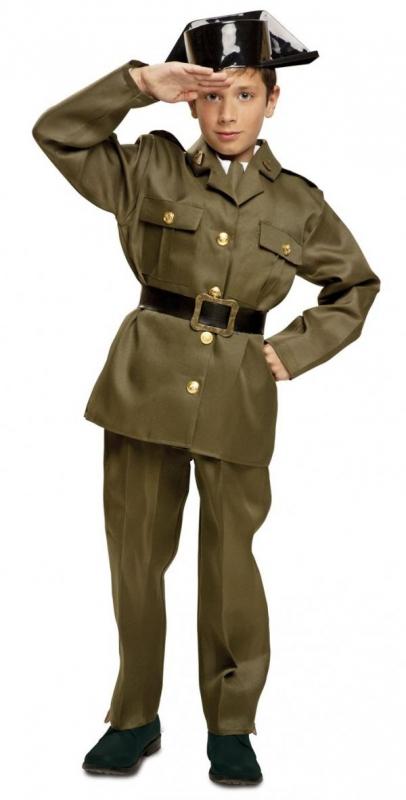 Dětské karnevalové kostýmy - Dětský kostým Španělský policista