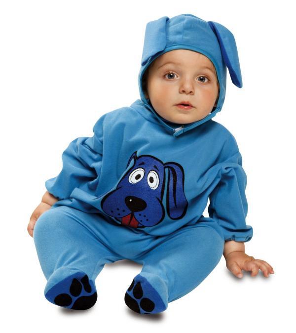 Dětské karnevalové kostýmy - Dětský kostým Modrý pejsek