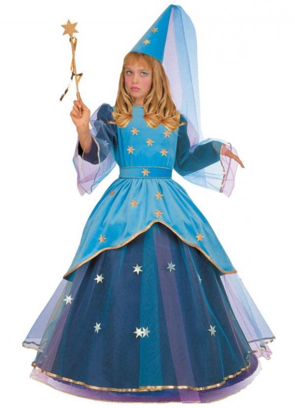 Princezny-Víly - Dětský kostým Noční víla