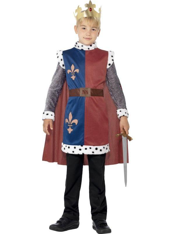Dětské karnevalové kostýmy - Dětský kostým Král