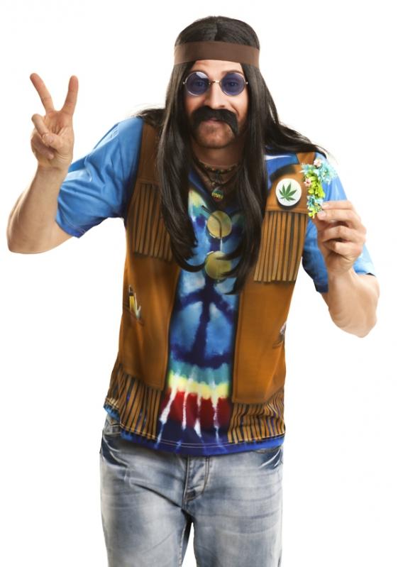 Hippie - kostým Hipiesák