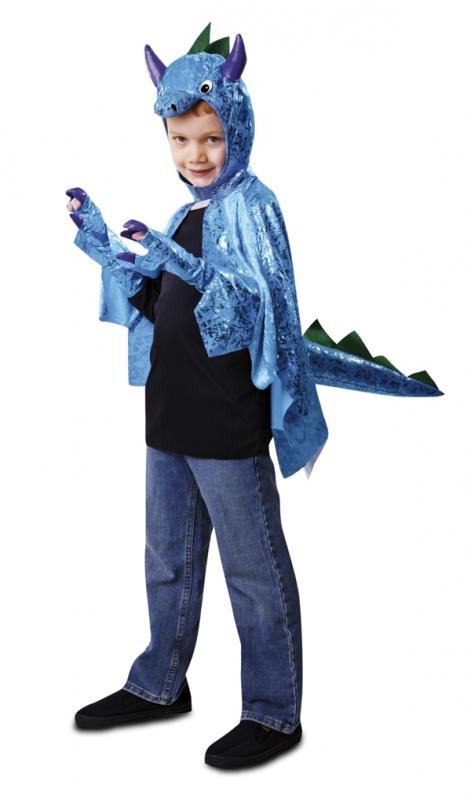 Dětské karnevalové kostýmy - Dětský kostým Dinosaurus modrý ea6eba2c0d0