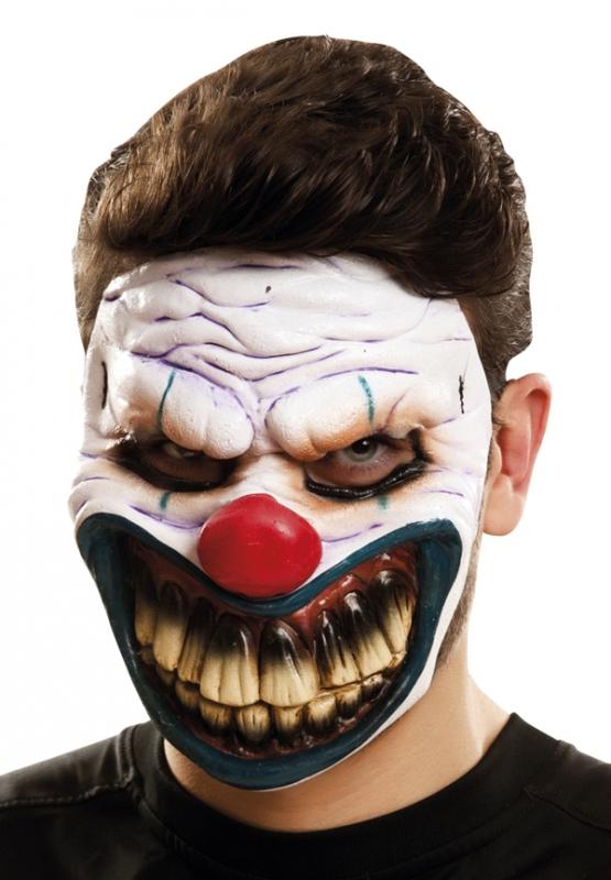 Klauni - Maska obličejová Ďábelský klaun