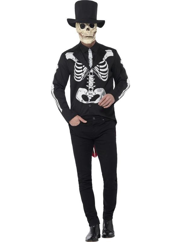 Pánské kostýmy - Kostým Kostlivec Day of the dead