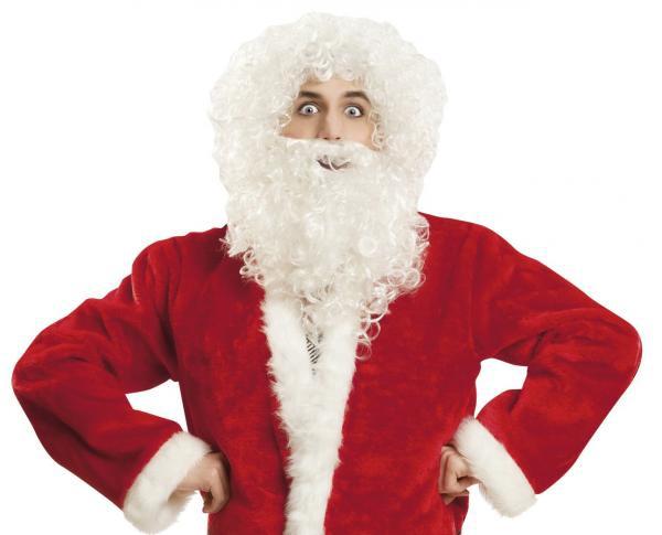 Paruky - Paruka a vousy Santa