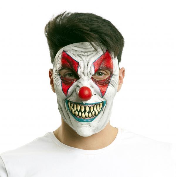 Klauni - Maska obličejová Klaun