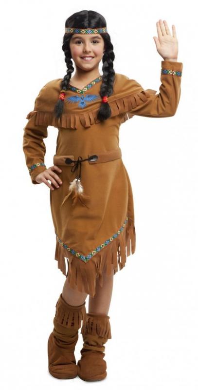 Indiáni - Dětský kostým Indiánka se vzory