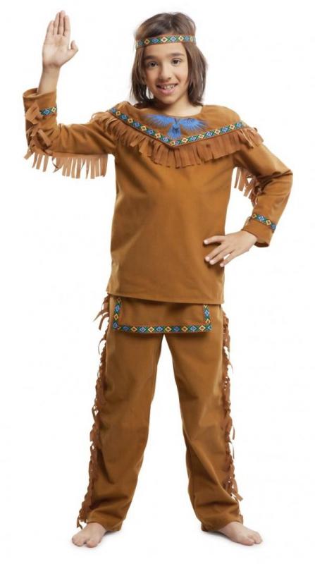Indiáni - Dětský kostým Indián se vzory