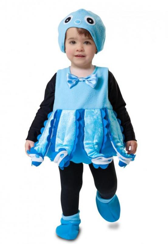 Dětské karnevalové kostýmy - Dětský kostým Chobotnice