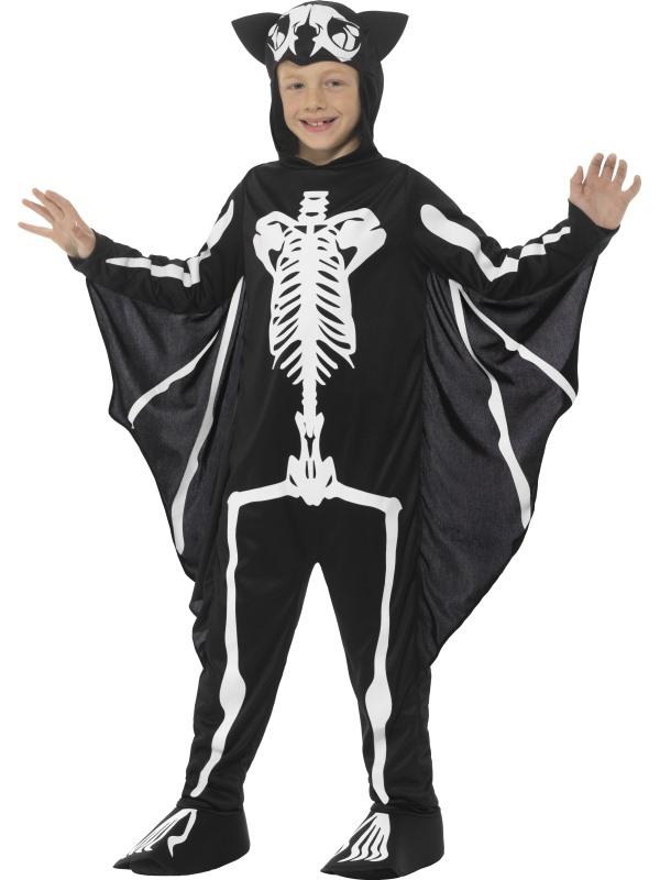 Halloween - Dětský kostým Kostra netopýra