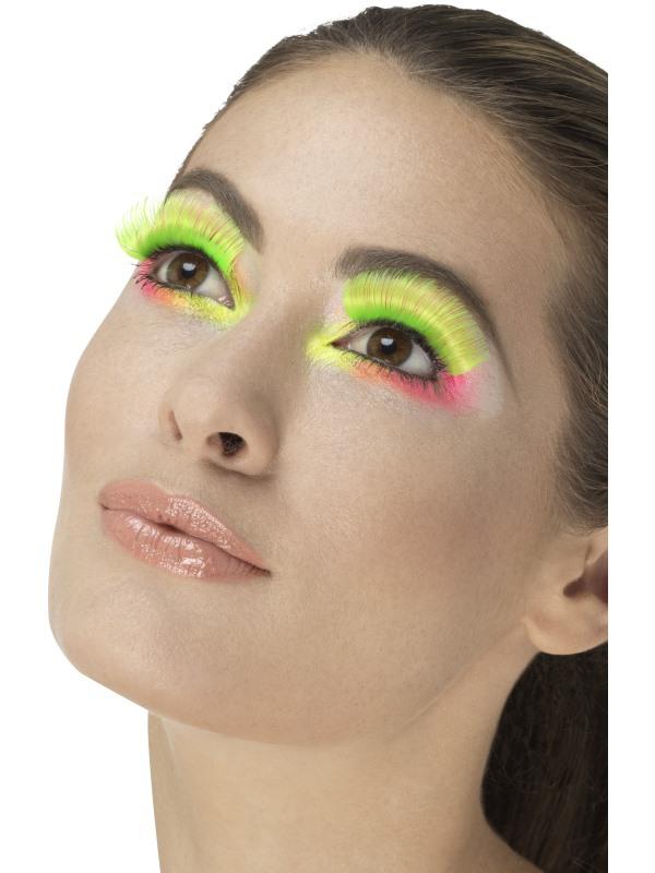 Líčidla a kosmetika - Řasy Neonové zelené