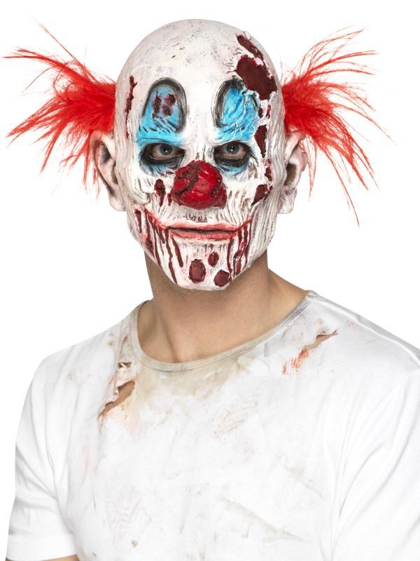 Halloween - Maska Zombie klaun I