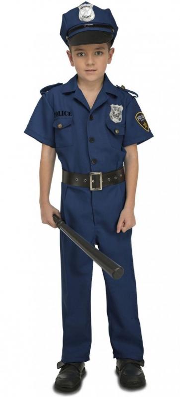 Dětské karnevalové kostýmy - Dětský kostým Policista s čepicí
