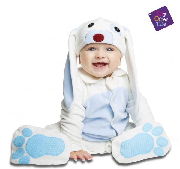 Dětské karnevalové kostýmy - miminkovský  kostým Modrý králíček