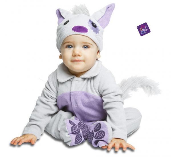 Dětské karnevalové kostýmy - Dětský kostým Kočička pro miminko