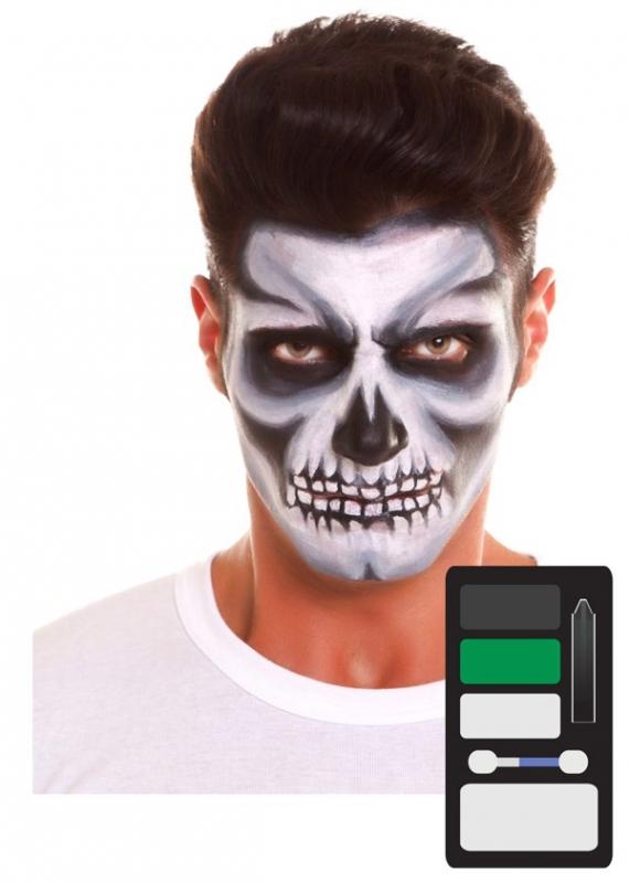 Halloween - Make up Sada Kostlivec