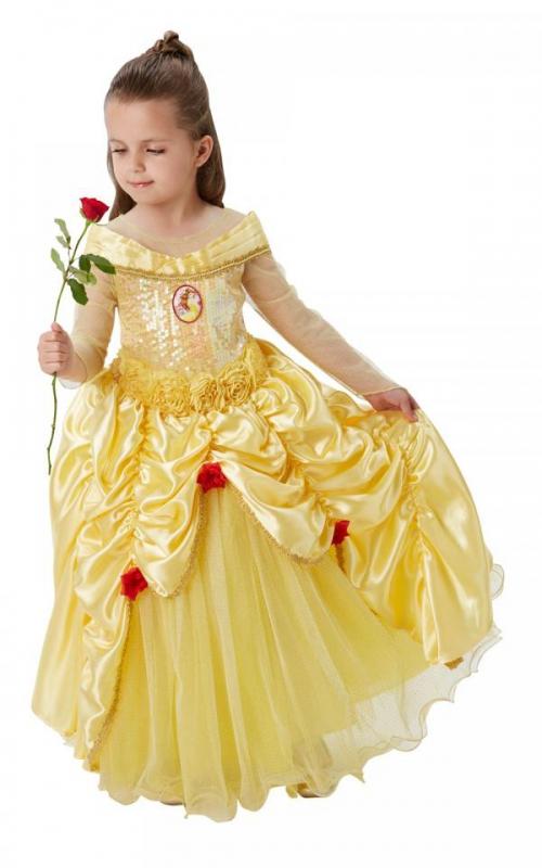 Princezny-Víly - Dívčí kostým Princezna Bella