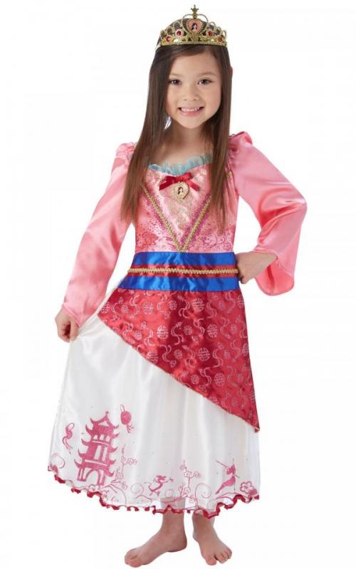 Princezny-Víly - Dětský kostým Mulan