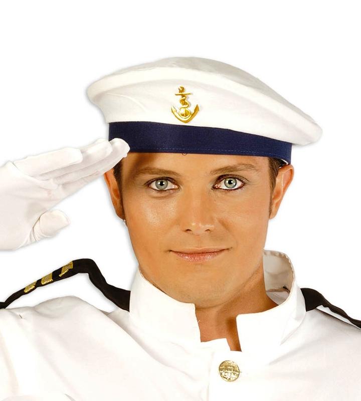Klobouky-čepice-čelenky - čepice námořník