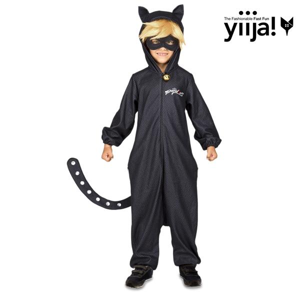 Dětské karnevalové kostýmy - Chlapecký kostým Černý kocour Kouzelná beruška