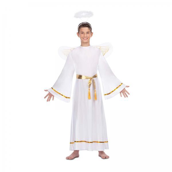 Mikuláš - Čert - Anděl - Dětský kostým Anděl II
