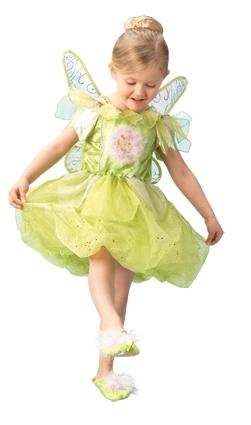 Princezny-Víly - Dětský kostým Zvonilka II