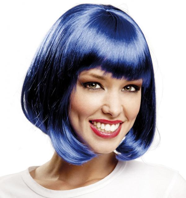 Paruky - Paruka Mikádo modré