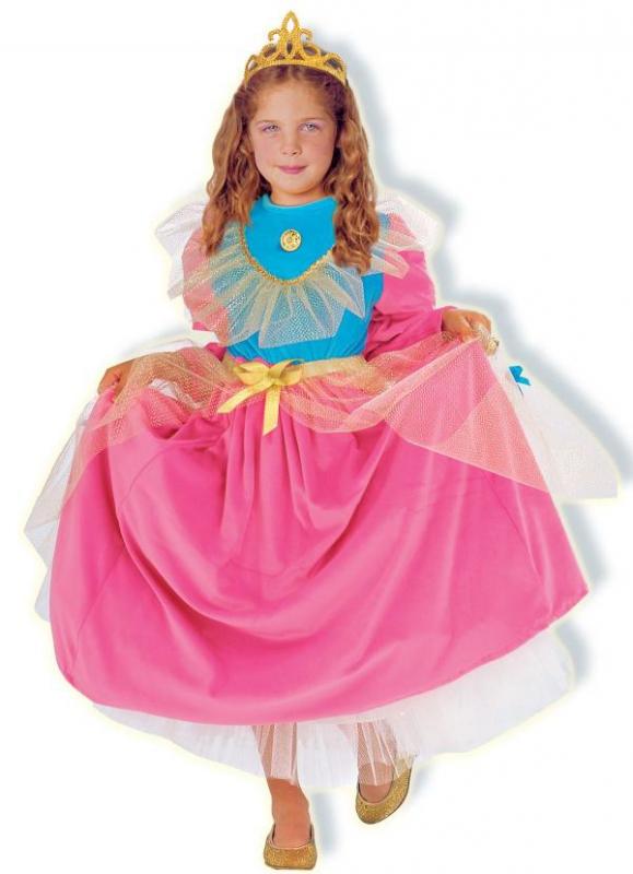 Princezny-Víly - Dětský kostým Princezna III