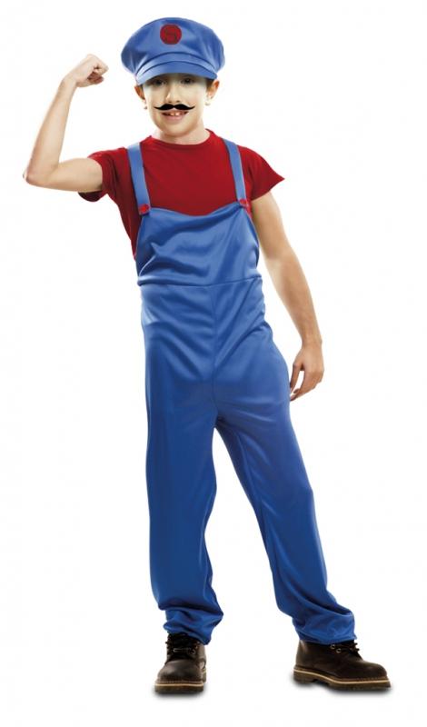 Dětské karnevalové kostýmy - kostým instalatér