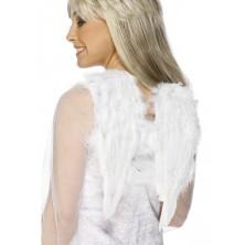Křídla péřová bílá 30 x 40 cm