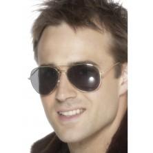 Brýle Letec stříbrné oboučky