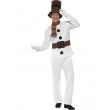 Kostým Sněhulák pro dospělé