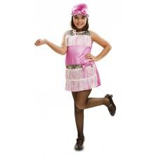 dívčí  kostým Charleston růžový