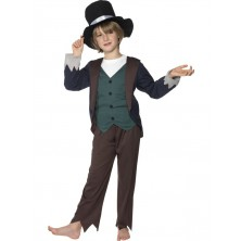 Dětský kostým Viktoriánský chudý chlapec
