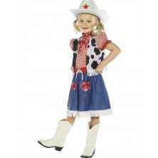 Dětský kostým Cowgirl
