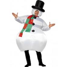 Kostým Sněhulák pro dospělé  I
